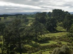 Matamata/Hobbiton: The Shire ... where Frodo was lying by <b>GandalfTheWhite</b> ( a Panoramio image )