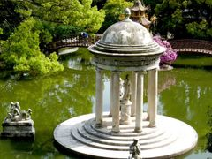 Genova Gap - Villa  Durazzo Pallavicini  gardens - Lake and litt by <b>Daniela Brocca</b> ( a Panoramio image )
