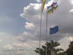 "Bangui Plage sur l""Oubangui by <b>Gege</b> ( a Panoramio image )"