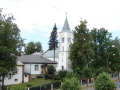 Rezeknes Sapju Dievmates Romas katolu baznica (arh. P.Pavlovs),  by <b>M.Strikis</b> ( a Panoramio image )