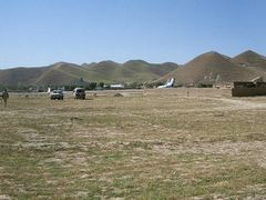 Qala-e Naw airport by <b>Mathias_Schroeder</b> ( a Panoramio image )