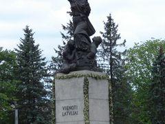 Piemineklis Vienoti Latvijai (Latgales Mara), Rezekne, Latvia by <b>M.Strikis</b> ( a Panoramio image )