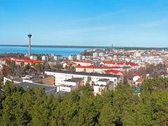 FIN Tampere from Pyynikin Naekoetorni Panorama by KWOT by <b>KWO Tsoumenis</b> ( a Panoramio image )