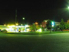 Night in Koivukyl by <b>Jukka Alander</b> ( a Panoramio image )