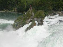 Rheinfalle bei Schaffhausen 4 by <b>Skifahrer</b> ( a Panoramio image )