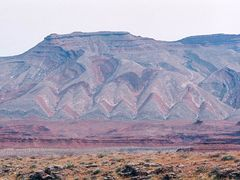 Coloured Moutains near Mexican Hat Utah by <b>yves floret</b> ( a Panoramio image )