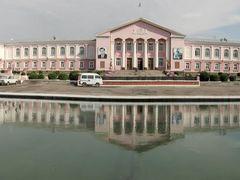 Administration of Urunhojaev District. Khujand, Tajikistan. by <b>Parviz.Tj</b> ( a Panoramio image )