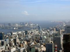 View from Tokyo Tower towards Rainbow Bridge by <b>sheridan_gray</b> ( a Panoramio image )