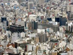 View of Tokyo from Tokyo Tower by <b>sheridan_gray</b> ( a Panoramio image )