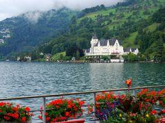 Vitznau, Lake Lucerne, Park Hotel by <b>Hans J.S.C. Jongstra</b> ( a Panoramio image )