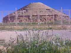 Medracen tomb, Batna, Aures by <b>arabhamid</b> ( a Panoramio image )