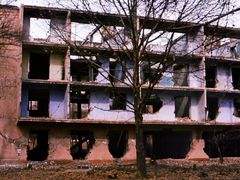 House in Dushanbe hit by the earthquake. 1984. by <b>Andrey Bogdanov</b> ( a Panoramio image )