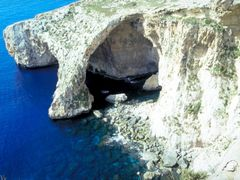 Malta, Blue Grotto by <b>© Wim</b> ( a Panoramio image )