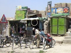 Kabul Bike Shop by <b>SirFin</b> ( a Panoramio image )