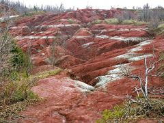 Badlands in Caledon, ON. by <b>Chuckels</b> ( a Panoramio image )