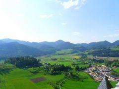 Panorama dal castello Hochosterwitz by <b>Chocolat13</b> ( a Panoramio image )