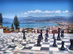 Satranc ve Sehir by <b>Mustafa-Fethiye/TURKIYE</b> ( a Panoramio image )