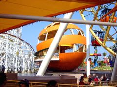 Orange Stinger, California Adventure by <b>Michael Kane</b> ( a Panoramio image )
