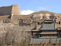 Datong, grottes de Yunganget grande muraille by <b>denise pelissier</b> ( a Panoramio image )