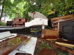 Piano Graveyard by <b>Norrel</b> ( a Panoramio image )