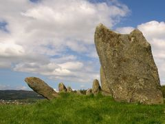 Beltany Stone Circle by <b>ogniw</b> ( a Panoramio image )