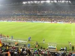Just to start...GameOn! South Africa vs Spain Confederations Cup by <b>Graham Maclachlan</b> ( a Panoramio image )