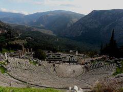 Delphi, Greece by <b>S. Dejchaisri</b> ( a Panoramio image )