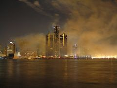 Smoke after the Fireworks (2009) by <b>Boris Gjenero</b> ( a Panoramio image )