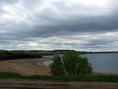 Lake Diefenbaker by <b>Lilypon</b> ( a Panoramio image )