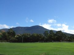 Mt Wellington from Wellesley Park, South Hobart, Tasmania by <b>Stuart Smith</b> ( a Panoramio image )