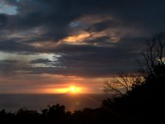 Montserrat sunset June 1st, 2009 by <b>Yanti & Francois Beauducel</b> ( a Panoramio image )