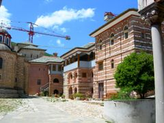 I. M. Megistis Lavras by <b>Nikiforos Papanikolaou</b> ( a Panoramio image )