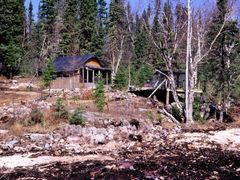 Prospector Cabin by <b>jfsyqt</b> ( a Panoramio image )