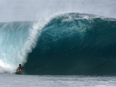 Banzai Pipeline by <b>David Bannach</b> ( a Panoramio image )