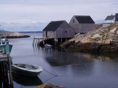 Harbour at Peggy`s Cove by <b>Pamela Norrington</b> ( a Panoramio image )