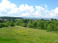 Gurghiu mountain & Mures river by <b>Dragos Snagov</b> ( a Panoramio image )