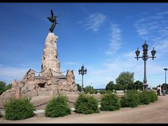 """Rusalka"" memorial by <b>Synoptic</b> ( a Panoramio image )"