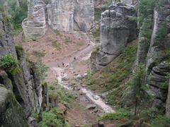 Csehorszag, Cseh-Paradicsom (Cesky raj,  Bohmisches Paradies), P by <b>szalay3</b> ( a Panoramio image )