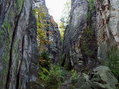 Prachovske skaly (Prachov rocks) by <b>Eva Jurenikova</b> ( a Panoramio image )