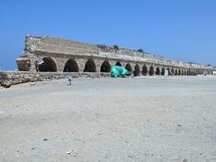 The Aqueduct on Caesarea beach. by <b>Nicola e Pina Israele 2009</b> ( a Panoramio image )
