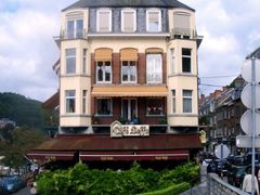 Cafe Leffe, Dinant, Ardennes by <b>infausto</b> ( a Panoramio image )