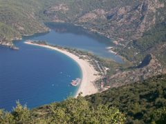 Belcek?z beach and Oludeniz  by <b>barbarosakpinar</b> ( a Panoramio image )