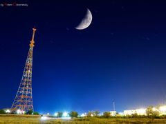 Ekibastuz city television tower by <b>Artem Ostrometskiy ©®</b> ( a Panoramio image )
