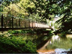 """""""Schaukelbrucke"""" in Wolkenburg by <b>drku</b> ( a Panoramio image )"""