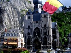 Eglise Collegiale Notre Dame & Meuse, Dinant, Ardennes by <b>infausto</b> ( a Panoramio image )