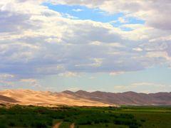 Sand Dunes 3 (Khongoriin Els by Amarbat) by <b>amarbat</b> ( a Panoramio image )