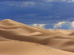 Sand Dunes 5 (Khongoriin Els by Amarbat) by <b>amarbat</b> ( a Panoramio image )