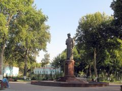 Samarqand Ulugbek Monument 2007 by <b>emkaplin</b> ( a Panoramio image )