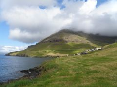 B?ur, a small village in Vagar, Faroe Islands by <b>Eileen Sanda</b> ( a Panoramio image )