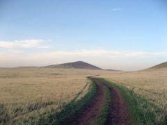 unterwegs zum Shiliyn Bogd Uul by <b>DanielMarc</b> ( a Panoramio image )